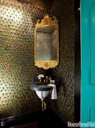 funky bathroom wallpaper ideas from funky to functional 25 surprising powder room designs