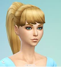 the sims 4 cc hair ponytail pin by studio lbum on custom content more sims pinterest
