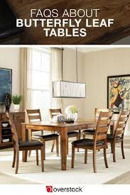 Butterfly Leaf Dining Room Table Home Design Ideas - Dining room table with butterfly leaf