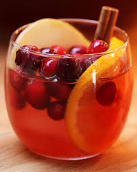 cranberry cider tasty happy hour pinterest beverage recipes