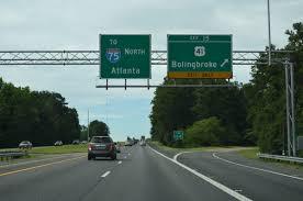 Atlanta Bypass Map by Georgia Aaroads Interstate 475