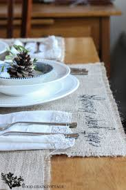 thanksgiving table setting the wood grain cottage