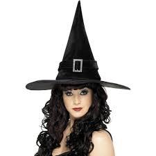 smiffy u0027s witch hat with diamonte buckle smiffys amazon