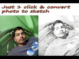 3 best android app how to convert photo to sketch pencil