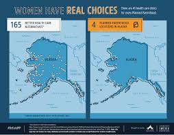 Map Of United States And Alaska by Maps Health Clinics Nationwide Compared To Planned Parenthood