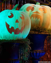 glow in the dark halloween martha stewart