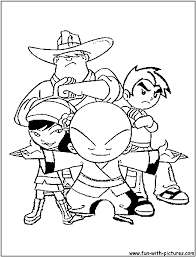 showdown3 coloring page