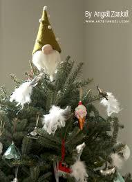 Gnome Ornament Christmas Diy Gnome Christmas Topper U2013 By Angeli Zankel U2013 Artbyangeli