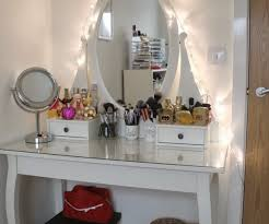 Pier One Vanity Table Diverting Lights Plus Vanity Makeup Table To Catchy Retro Black