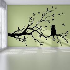 Beautiful Wall Stickers For Room Interior Design Trees Flowers