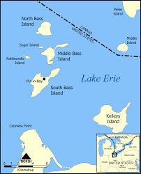 Kayak Map Caska Chicago Area Sea Kayakers Association Lake Erie Islands