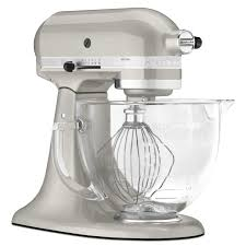 Artisan Kitchenaid Mixer by Kitchenaid Ksm155gbsr Artisan Design Series Sugar Pearl 5 Quart