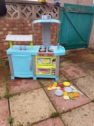 kids play kitchen with food items and accessories chad valley