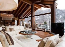 natural chalet living room designs 32 554x407 home architecture