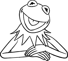 the muppets kermit the frog coloring pages wecoloringpage