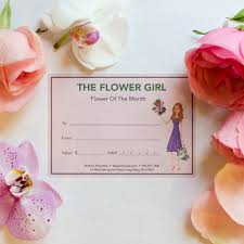 flower of the month flower of the month subscription the house flower girl