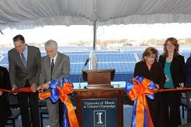 solar farm completed