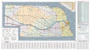 nebraska state highway map maplets