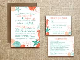 wedding invitations miami tropical wedding invitation rectangle potrait white green