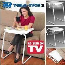 table mate ii folding table b l table mate ii multipurpose folding table amazon co uk kitchen