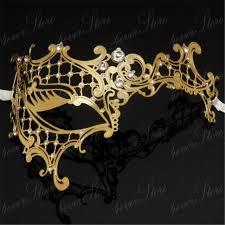 metal masquerade mask aliexpress buy party phantom rhinestone laser cut