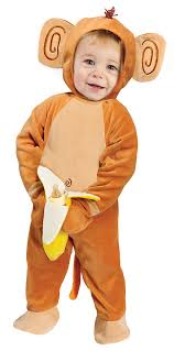 Halloween Costumes Monkey Kids Bananas Monkey Costume Baby Costumes Monkeys