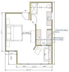 Master Bedroom Closet Size Bedroom Extraordinary Master Bedroom With Walk In Closet Plan