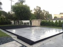 dance floor on top of your swimming pool for rent los angeles 818