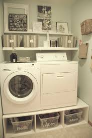 Clothes Storage Solutions by 25 Ideas For Small Laundry Spaces Tiny Laundry Rooms Laundry