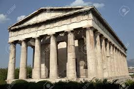 imagenes de antigua atenas templo de hefesto en antigua ágora de atenas grecia fotos retratos