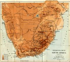 Map Of South Africa by The Project Gutenberg Ebook Of Impressions Of South Africa By