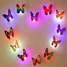 amazon com growfer 10 packs creative colorful butterfly