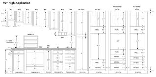 ausgezeichnet kitchen cabinets specifications httputtermag Standard Kitchen Cabinet Door Sizes