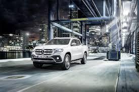 mercedes benz reveals production 2018 x class pickup