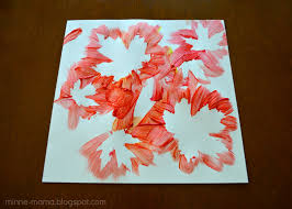 thanksgiving crafts treats fall leaf painting for kids jpg