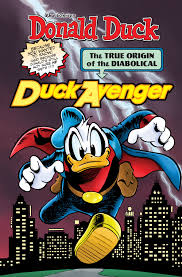donald duck diabolical duck avenger u2013 idw publishing