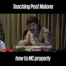 I Can See Sounds Meme - unilad sound kurupt fm roasting post malone is actually