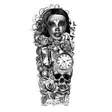 картинки по запросу full sleeve tattoo stencils tattoo