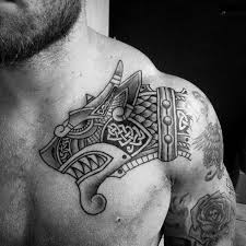 celtic shoulder tattoo tattoo collections