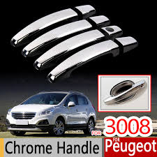 is peugeot 3008 a good car for peugeot 3008 chrome handle covers trim set of 4pcs 2008 2016
