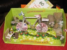 originelle hochzeitsgeschenke mit geld geldgeschenk für ein fahrrad deko geldgeschenke