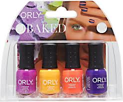 4 piece baked summer nail color collection mini kit