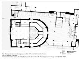 Globe Theatre Floor Plan Allies And Morrison U0027s Globe Theatre Overhaul Revealed News
