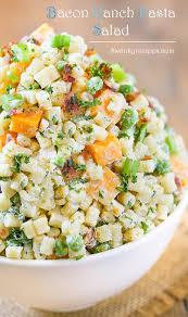 Pasta Salad Mayo by Bacon Ranch Pasta Salad Swanky Recipes