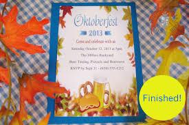 free printable oktoberfest invitation top party ideas