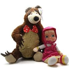 masha bear doll toyrussian language baby doll talking