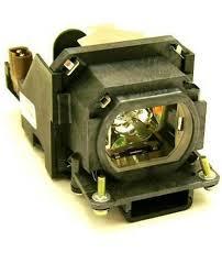 panasonic pt lb50 projector housing with genuine original oem bulb