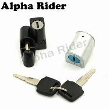 ignition switch gas cap helmet steering lock key for honda shadow