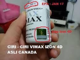 vimax asli canada izon terbaru 2018