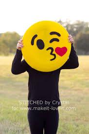 emoji costume make a no sew emoji costume make it and it